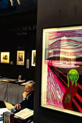 David Tunick, Inc. at IFPDA Fine Art Print Fair 2018, installation view