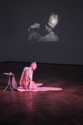 New Swiss Performance Now, installation view