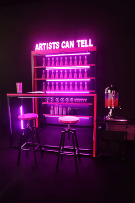 de Sarthe Gallery at ART021 Shanghai Contemporary Art Fair 2016, installation view