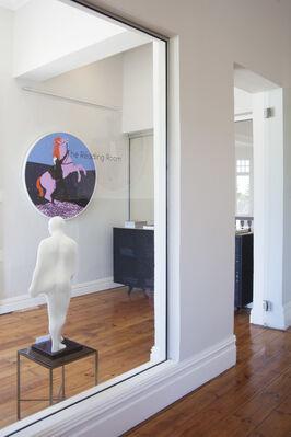I LIKE HISTORY BUT I LOVE FICTION, installation view