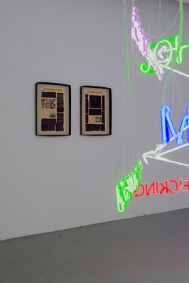 Warren Neidich, NEUROMACHT Noise and the Possibility of a Future, installation view