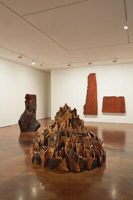 David Nash, installation view