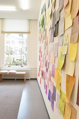 Wieteke Heldens | With Colored Content², installation view