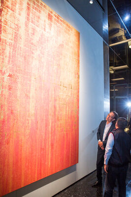 Song of Songs - Makoto Fujimura Solo Exhibition 歌中之歌-藤村真個展, installation view