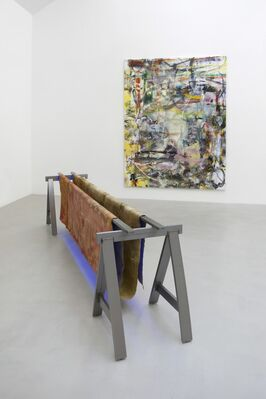 LIAM EVERETT - The Winds, installation view