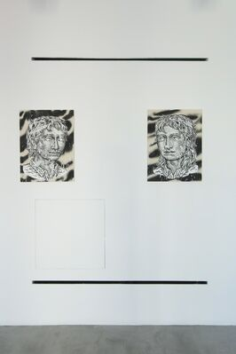 Swapping Paint, installation view