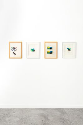 Pierre Dunoyer: Vers le tableau, installation view