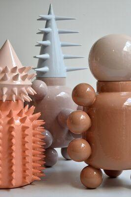 Ceramic Urns, installation view