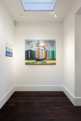 Against the Tide, installation view