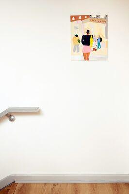 Mystery, Feeling, Internet, installation view