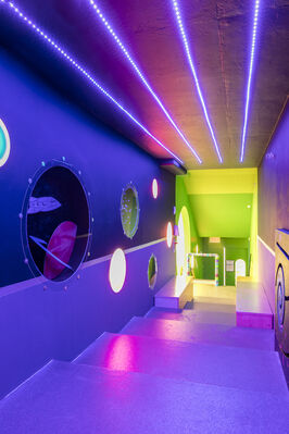 Bridge Projects: Crazy Space Odyssey, installation view