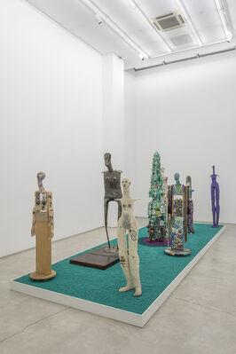 Timothy Washington, Pucker Up, installation view