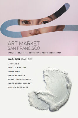 Madison Gallery at Art Market San Francisco 2019, installation view