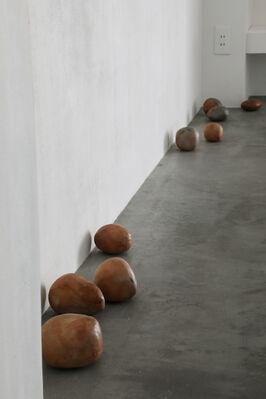 """Vol. 114 Eiji Uematsu  """"Niwa no Hoshi -stars in the garden -"""", installation view"""