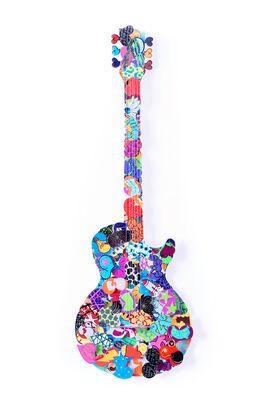 Tugging On My Heart Strings - David Kracov's Guitars, installation view