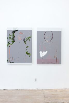 I'd Rather Be Here Than Almighty, installation view