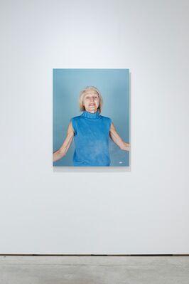Becoming Blue, Anouk Kruithof, installation view