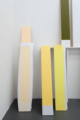 Elodie Seguin, 'Gestes et mesures à l'horizon des surfaces', installation view