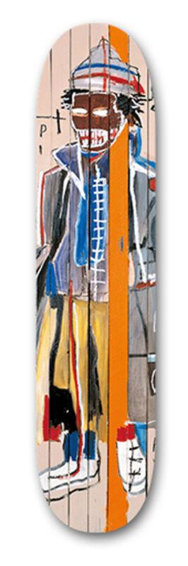 Jean-Michel Basquiat, 'Anthony Clarke', ca. 2014, Print, Screenprint on wood, EHC Fine Art
