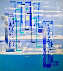 Irene Rice Pereira, 'The Twinkling Flight', 1952