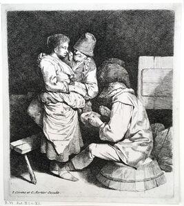 Cornelis Bega, 'The Young Hostess', 1660-1664