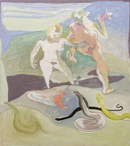 Siegfried Anzinger, 'Snakes', 2011