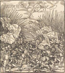 Hans Schäufelein the Elder, 'Battle of Cividale'