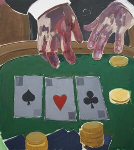 Enrico Riley, 'Untitled: Card Player, A Presentation of Possibilities ', 2020