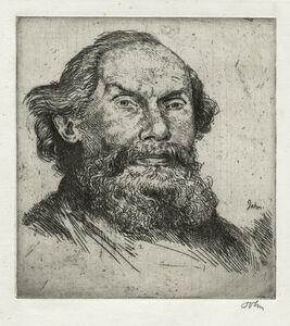 Augustus John, 'Benjamin Waugh', 1906