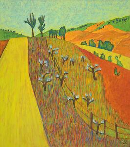 K. L. McKenna, 'Sagebrush Fence, WY', 2013