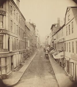 Josiah Johnson Hawes, 'School Street, Boston', 1850s