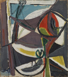 "Renato Birolli, '""Trinité sur Mer""', 1949"