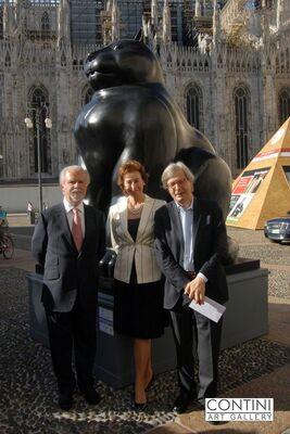 Fernando Botero, installation view