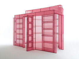 Do Ho Suh, 'Hub-2, Breakfast Corner, 260-7, Sungbook-Dong, Sungboo-Ku, Seoul, Korea', 2018