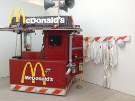 Tom Sachs, 'Nutsy's McDonald's', 2001