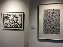 Keith Haring, 'The Labyrinth (rare - edition of just 25)', 1989