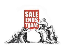 Banksy, 'Sale Ends (v.2) Signed', 2017