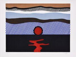Roy Lichtenstein, 'Illustration for 'De Nouveau au-dessus de Denver', from La Nouvelle Chute de l'Amérique', 1992