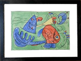 Joan Miró, 'UBU Roi (plate 12)', 1966