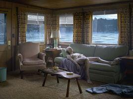 Gregory Crewdson, 'Reclining Woman on Sofa', 2014