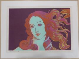 Andy Warhol, 'Details of Renaissance Paintings (Sandro Botticelli, Birth of Venus 1482) F&S II.317', 1984