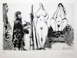 Pablo Picasso, '347 SERIES (BLOCH 1715) ', 1968
