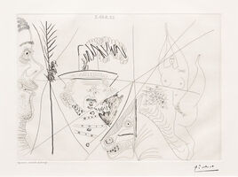 Pablo Picasso, 'Ecuyere de Cirque..., from the 347 Series', 1968