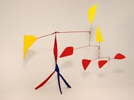 Alexander Calder, 'Red Versus Yellow', 1973