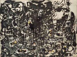 Jackson Pollock, 'Yellow Islands', 1952