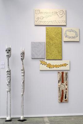 Arts d'Australie • Stéphane Jacob at Art Paris 2015, installation view