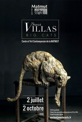PATRICK VILLAS - BIG CATS, installation view