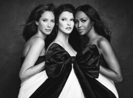 Patrick Demarchelier, 'Christy, Linda, and Naomi', 2016