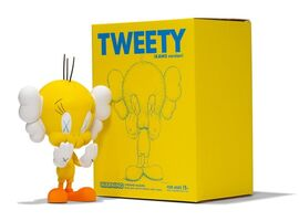 KAWS, 'Tweety (Yellow)', 2010