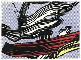 Roy Lichtenstein, 'Brushstrokes', 1967
